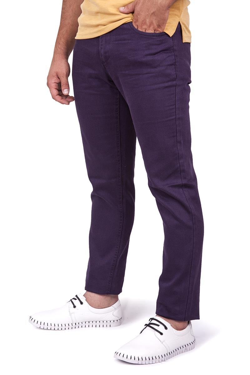 Yellow Point Patlıcan SE-932-2 Erkek Pantolon