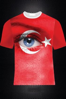 By Tugi Kırmızı HLG-010 Erkek Tişört