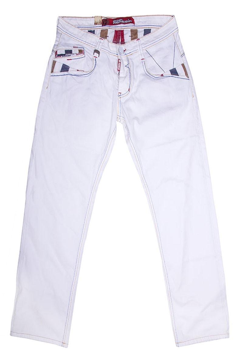 Denim Agresif Beyaz SE-932-8 Erkek Pantolon