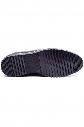 BLUESOIL Kahverengi-Siyah BS-20-075-KAHVE Erkek Ayakkabı