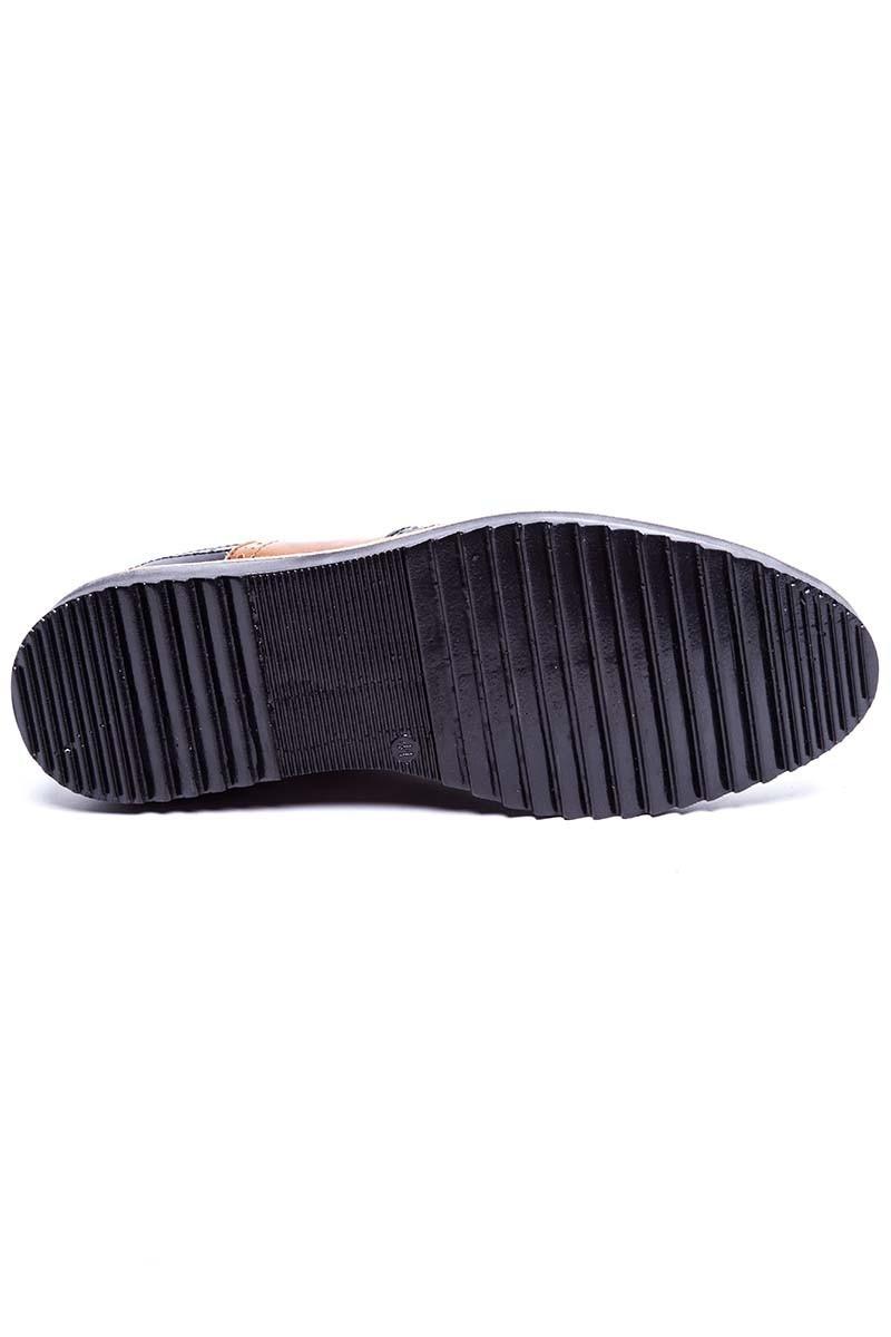 BLUESOIL Siyah-Taba BS-20-075 Erkek Ayakkabı