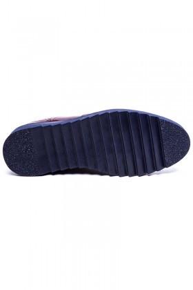 BLUESOIL Bordo BS-20-065 Erkek Ayakkabı