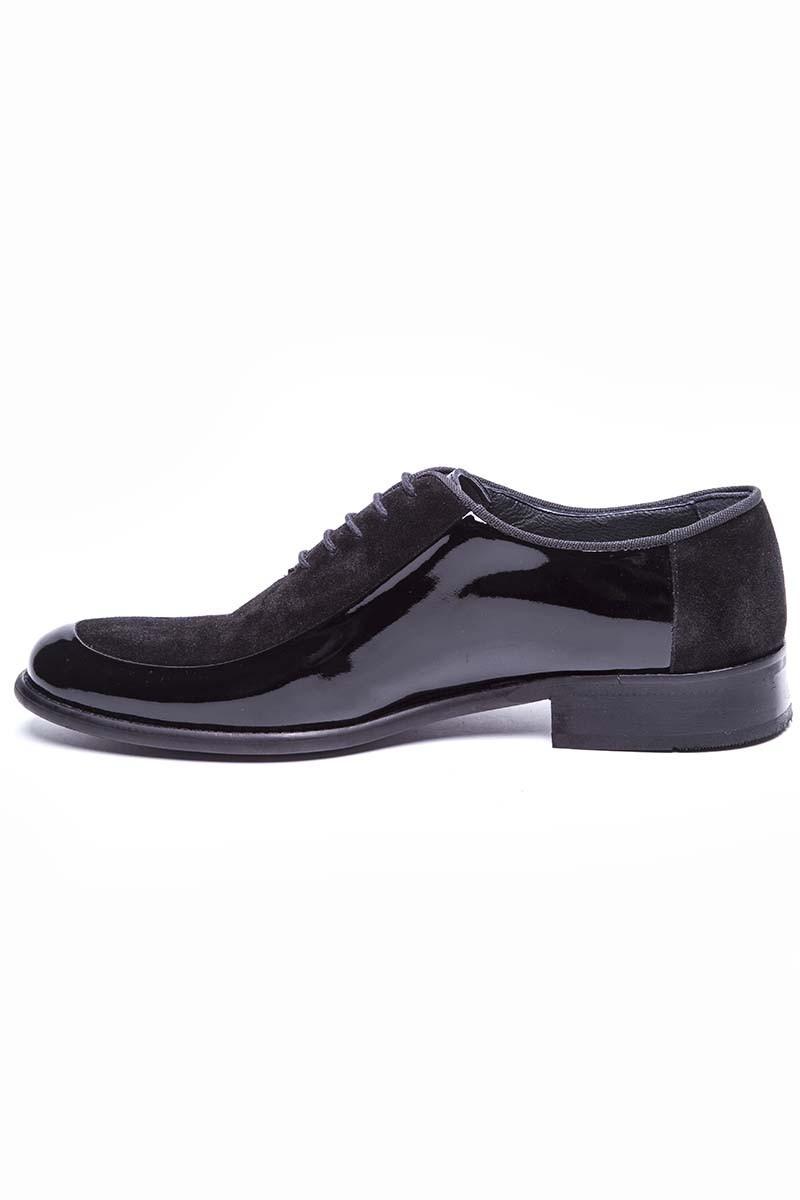 Wenetti Siyah WNT-262-SUET Hakiki Deri Klasik Erkek Ayakkabı