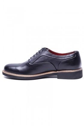 BLUESOIL Siyah BS-20-76 Hakiki Deri Erkek Ayakkabı