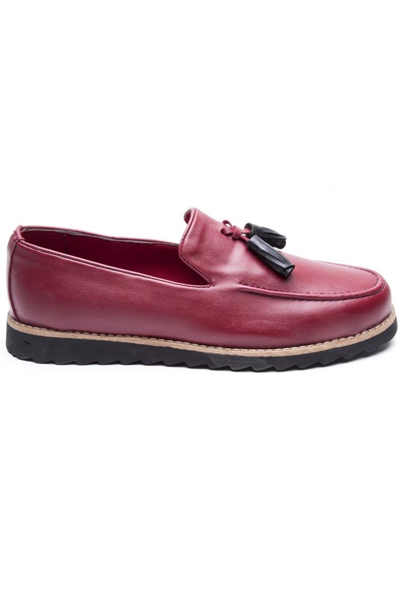 BLUESOIL Kırmızı BS-20-048-BORDO Erkek Ayakkabı