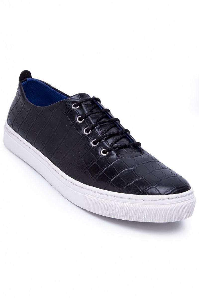 BLUESOIL Siyah BS-20-042-KARELI Erkek Ayakkabı