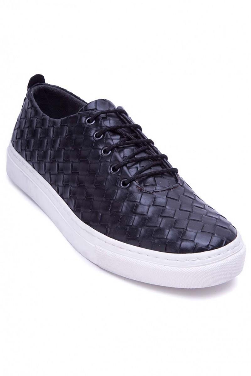 BLUESOIL Siyah BS-20-042-MAT Erkek Ayakkabı