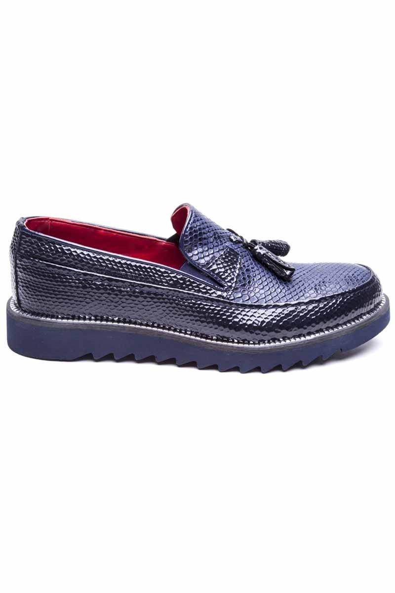 BLUESOIL Lacivert BS-20-058-YILAN Erkek Ayakkabı