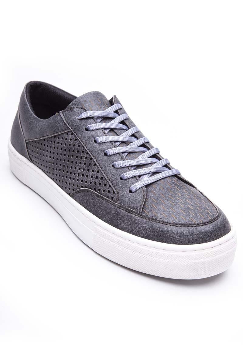 Young West Gri YW-800 Erkek Ayakkabı