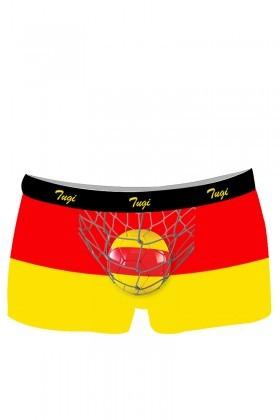 BLUESOIL Sarı-Kırmızı TG-GS-1 Erkek Boxer