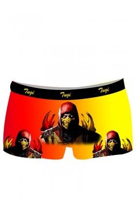 BLUESOIL Sarı-Kırmızı TG-GS-10 Erkek Boxer