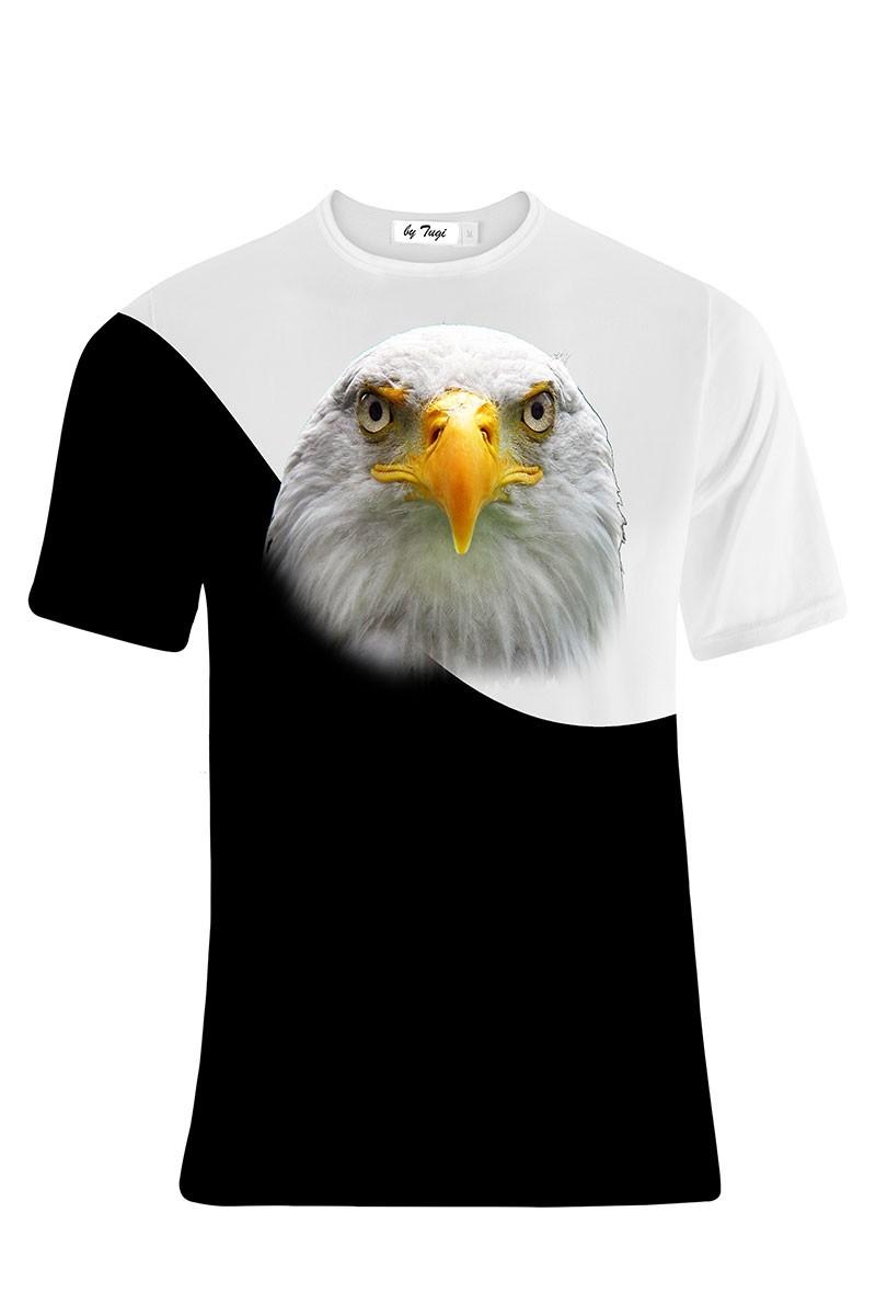 Tugi Siyah-Beyaz TG-BJK-01 Erkek Tişört