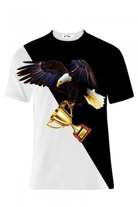 Tugi Siyah-Beyaz TG-BJK-05 Erkek Tişört