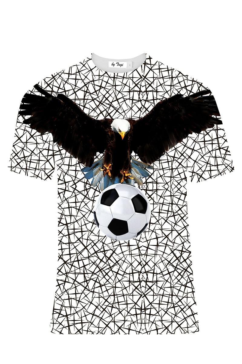 Tugi Siyah-Beyaz TG-BJK-07 Erkek Tişört