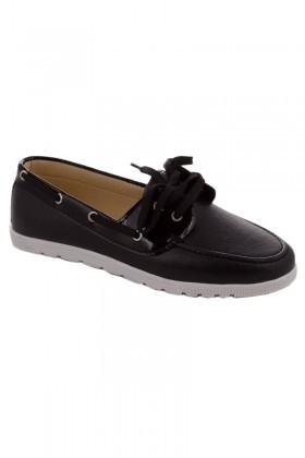 OB Siyah OB-0305 Bayan Ayakkabı