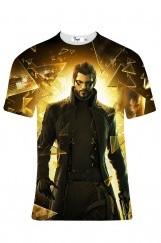 Erkek 3D Baskılı Tişört