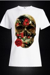 Bayan 3D Baskılı Tişört