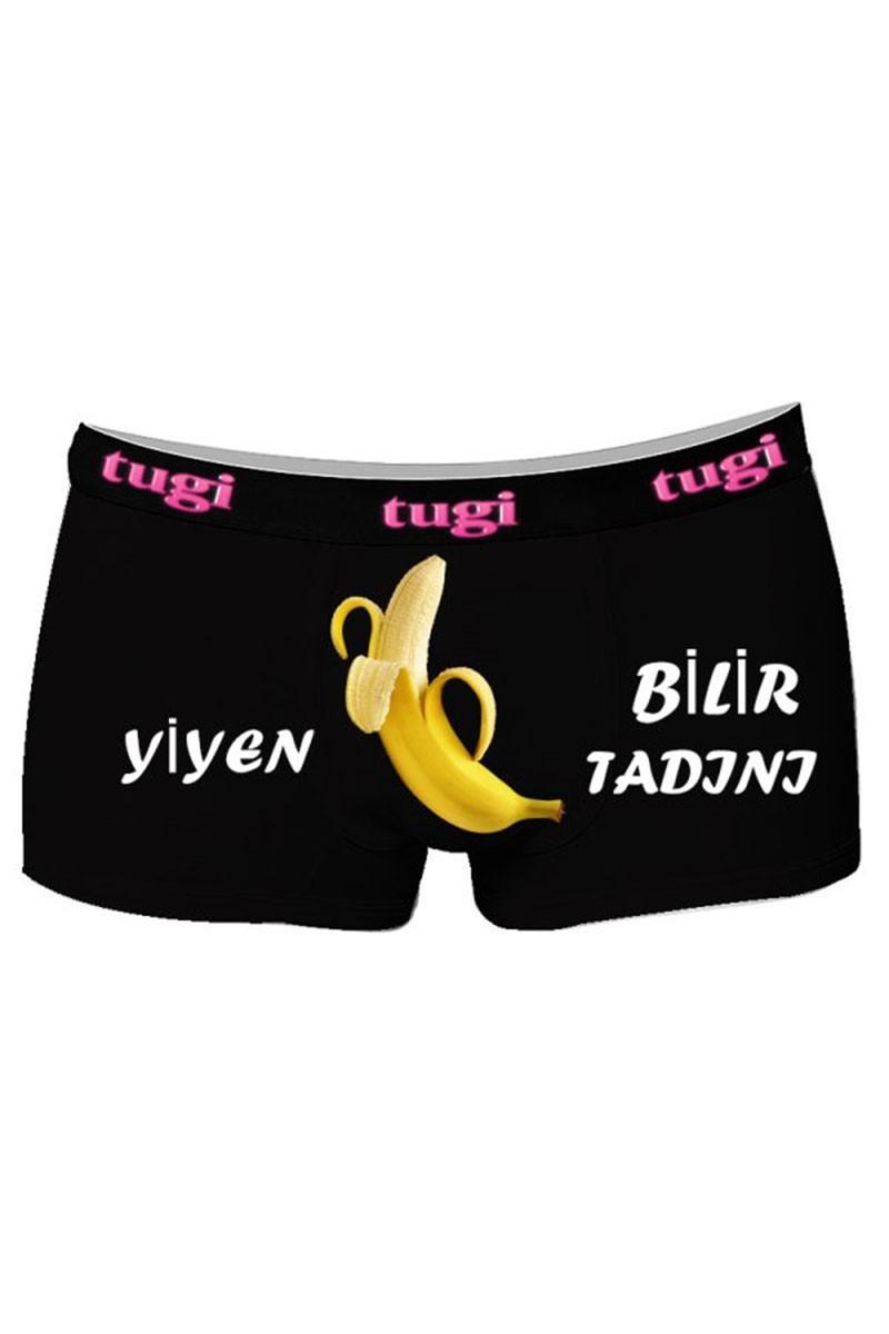 By Tugi Siyah TG-567 Erkek Boxer