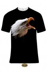 Erkek 3D Baskılı Beşiktaş Tişört