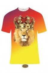 Erkek 3D Baskılı Galatasaray Tişört