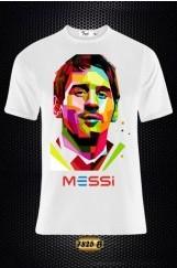 Messi Baskılı Erkek Tişört