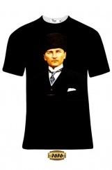 Atatürk Baskılı Erkek Tişört