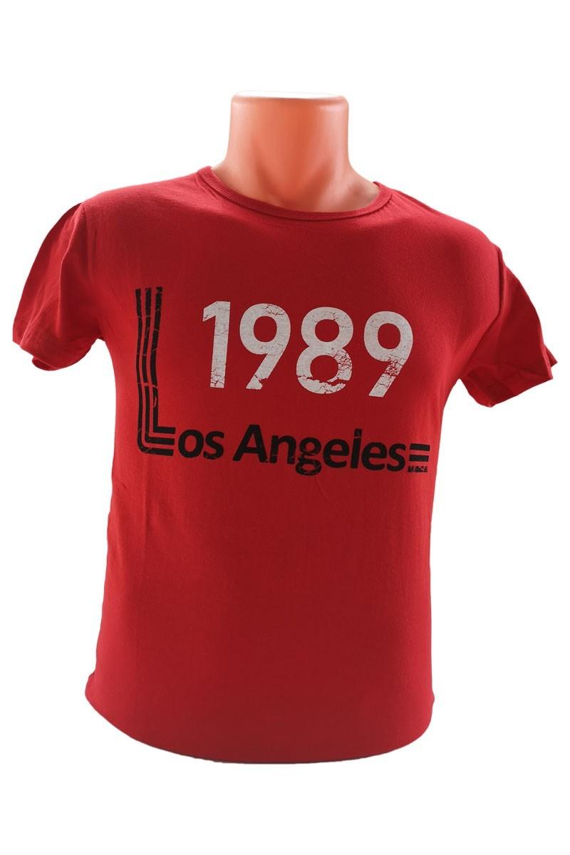 OB Kırmızı OB-T027 Erkek Tişört
