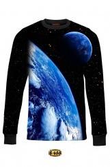 3D Baskılı Erkek Sweatshirt