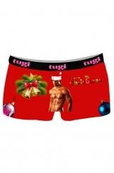 Yılbaşı Baskılı 3D Erkek Boxer